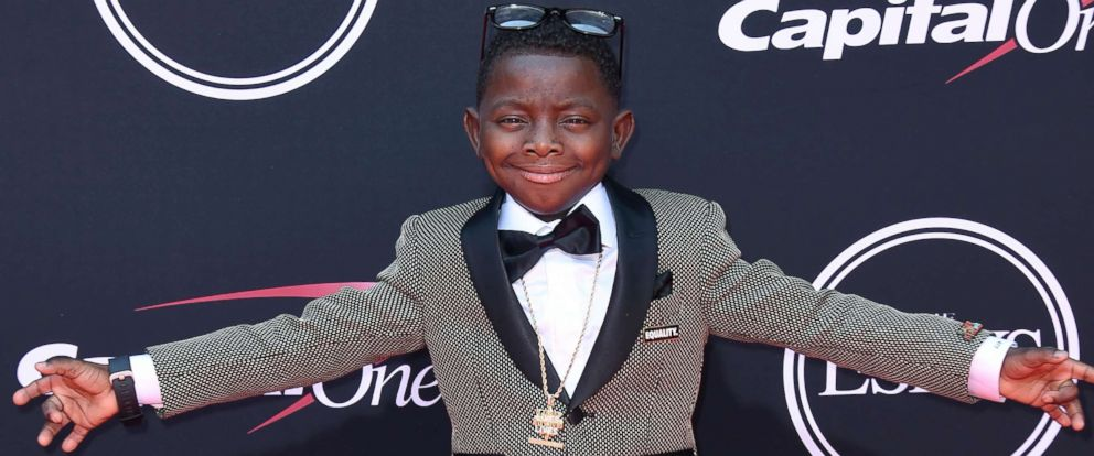 PHOTO: Jarrius Robertson arrives at the ESPYS at the Microsoft Theater, July 12, 2017, in Los Angeles.