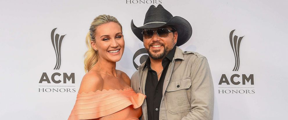 PHOTO: Brittany Kerr (L) and Jason Aldean attend the 11th Annual ACM Honors at the Ryman Auditorium, Aug. 23, 2017 in Nashville, Tenn.