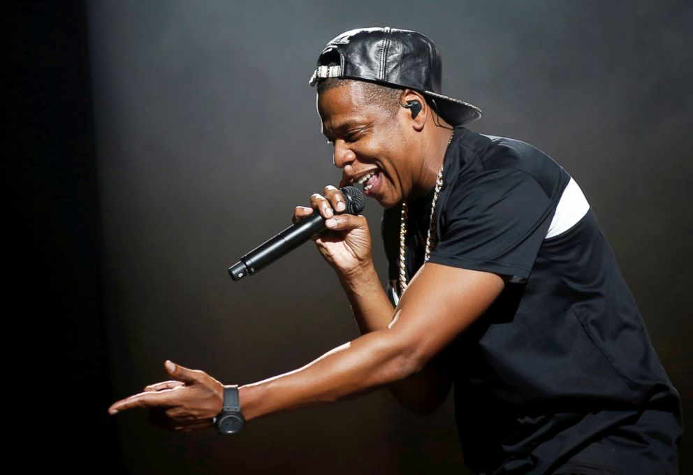 PHOTO: Rapper Jay-Z performs at Bercy stadium in Paris, Oct. 17, 2013.