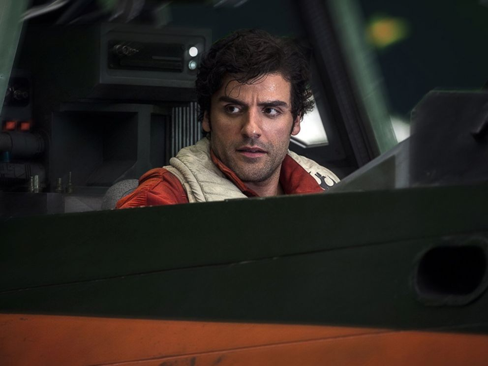PHOTO: Oscar Isaac in Star Wars: The Last Jedi, 2017.