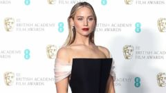 PHOTO: Jennifer Lawrence in the press room during the EE British Academy Film Awards (BAFTAs) held at Royal Albert Hall, Feb. 18, 2018 in London.