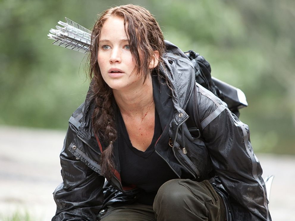PHOTO: Jennifer Lawrence in The Hunger Games.