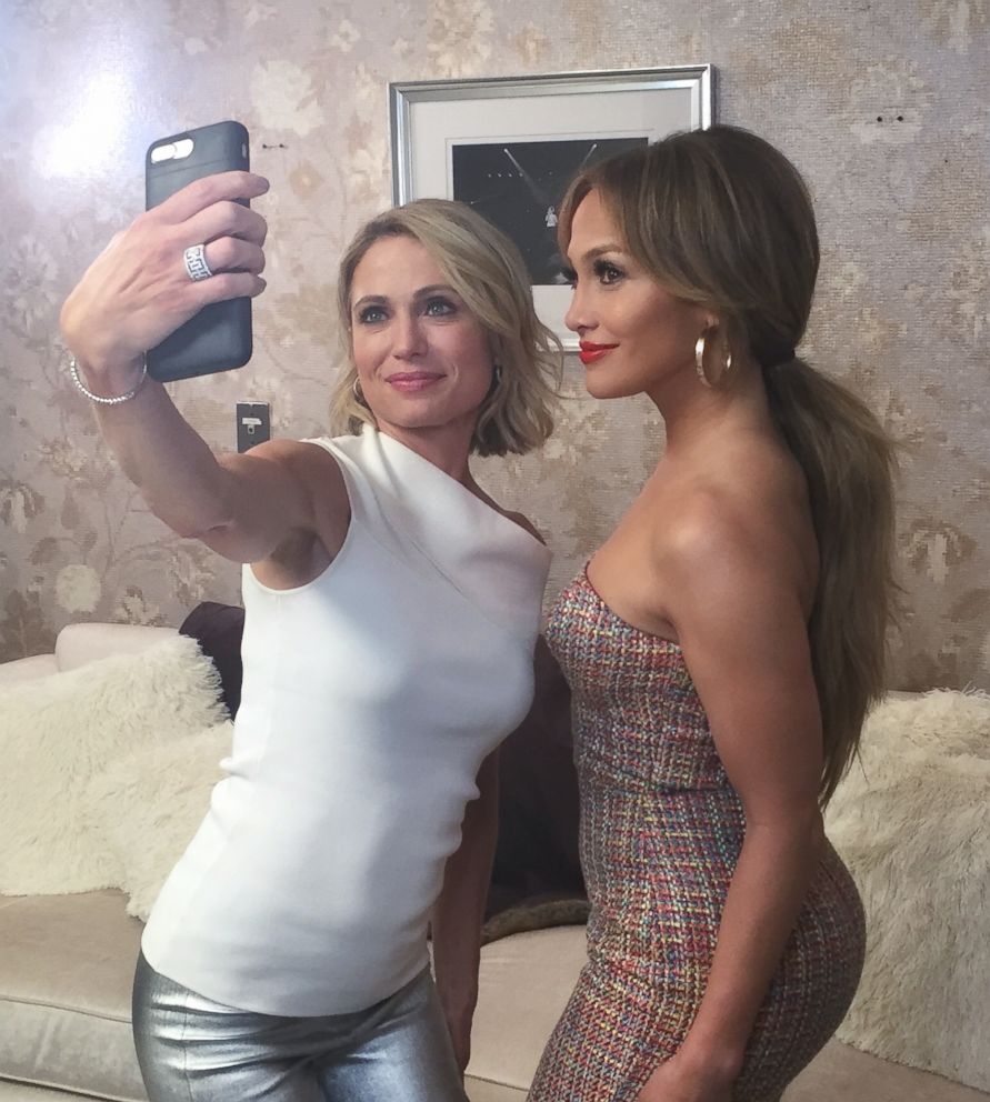 PHOTO: Pop star Jennifer Lopez opens up in an interview with ABC News Amy Robach.