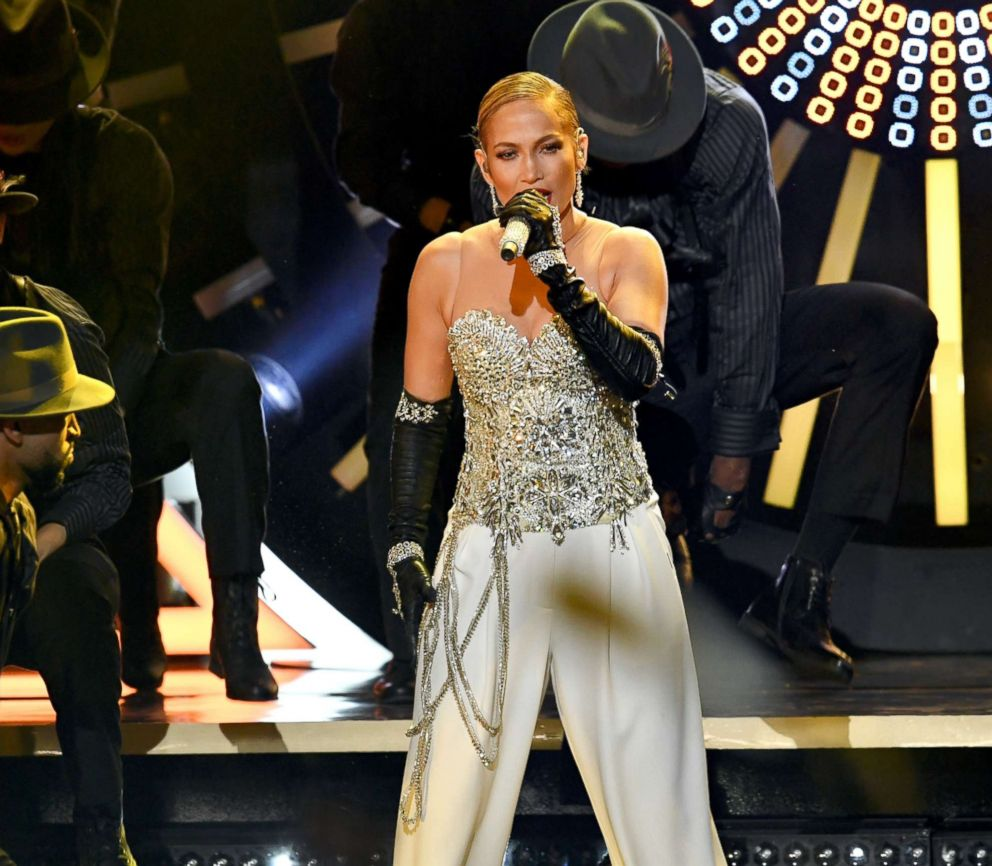 PHOTO: Jennifer Lopez performs onstage during the 2018 Billboard Music Awards at MGM Grand Garden Arena on May 20, 2018 in Las Vegas, Nevada.