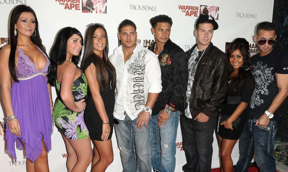 PHOTO: Jersey Shore cast members in this June 7, 2010 file photo in West Hollywood, Calif.