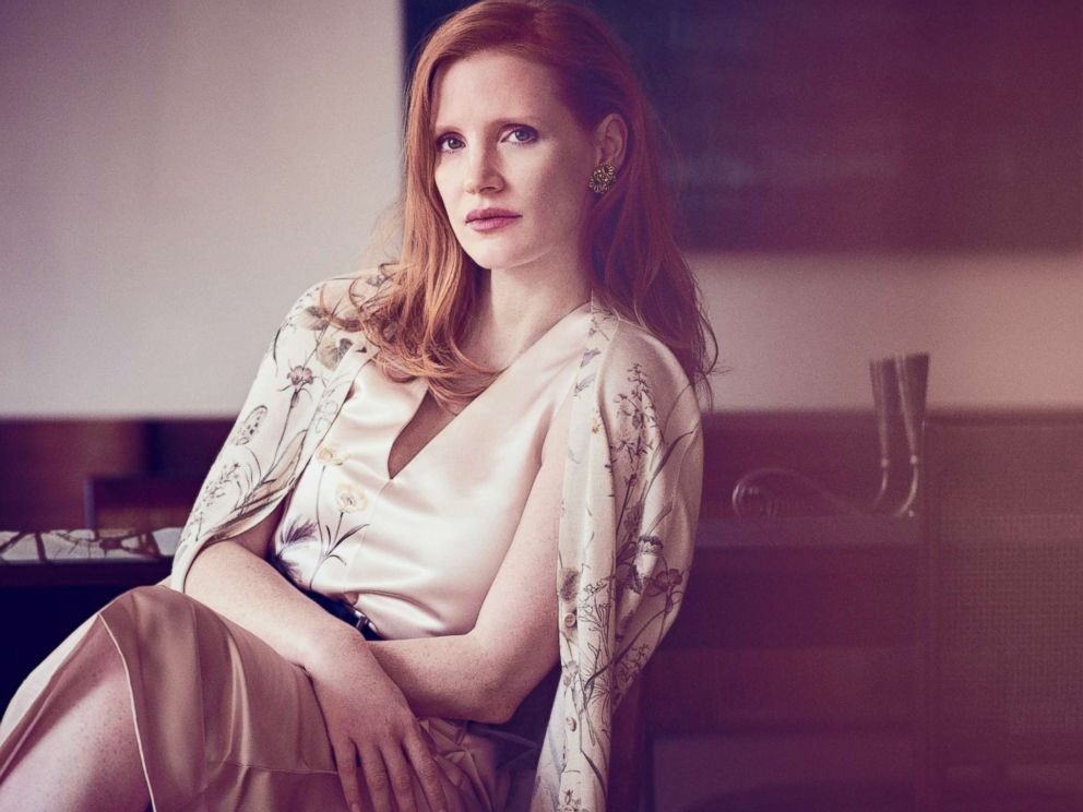 PHOTO: Jessica Chastain covers the December/January issue of Town & Country.