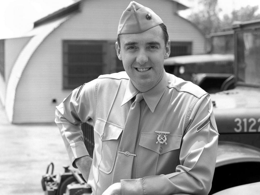 PHOTO: Jim Nabors poses as character Gomer Pyle, U.S.M.C. Hollywood, June 14, 1965.