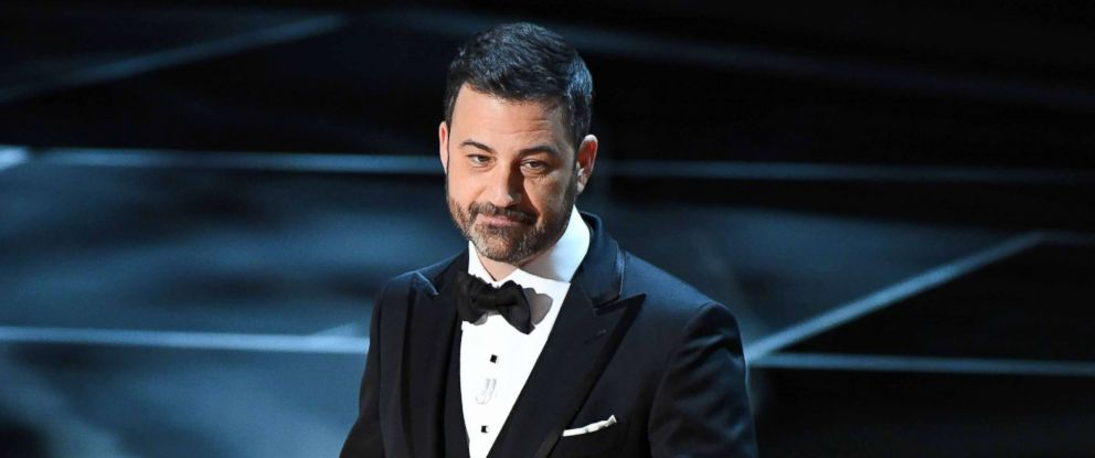 PHOTO: Jimmy Kimmel hosts the 90th Academy Awards at Dolby Theatre.