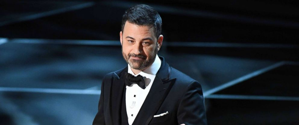 PHOTO: Jimmy Kimmel hosts the 90th Academy Awards at Dolby Theatre on March 4, 2018 in Hollywood, Calif.