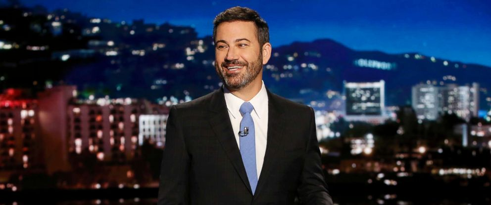 "PHOTO: Jimmy Kimmel on ""Jimmy Kimmel Live,"" Sept. 28, 2017."