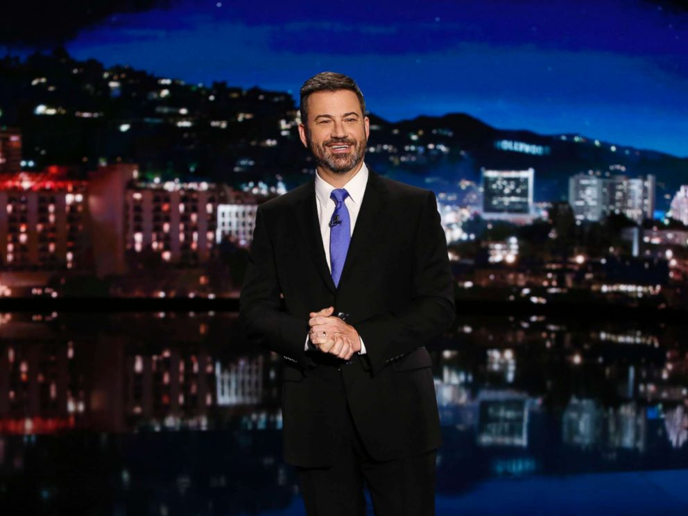 PHOTO: Jimmy Kimmel appears on Jimmy Kimmel Live, Oct. 26, 2017.
