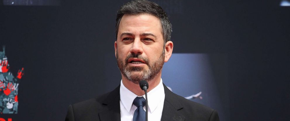 PHOTO: Jimmy Kimmel attends the Lionel Richie Hand And Footprint Ceremony at TCL Chinese Theatre, March 7, 2018, in Hollywood, Calif.