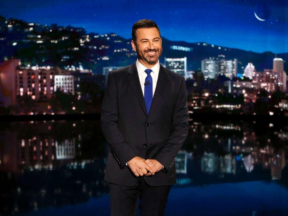 PHOTO: Jimmy Kimmel on Jimmy Kimmel Live, Sept. 14, 2017.