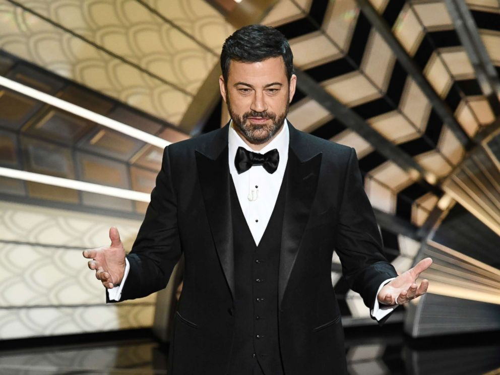 PHOTO: Host Jimmy Kimmel onstage during the 89th Annual Academy Awards at Hollywood & Highland Center, Feb. 26, 2017, in Hollywood, Calif.