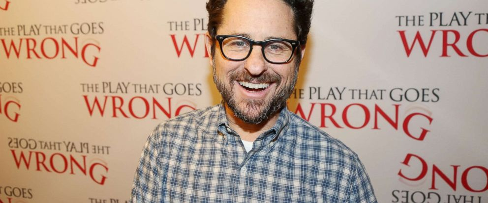 "PHOTO: Producer J.J. Abrams attends a press conference for his Broadway producing debut of ""The Play That Goes Wrong"" at Sardis, March 2, 2017, in New York City."