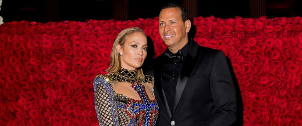 PHOTO: Jennifer Lopez and Alex Rodriguez attend the Heavenly Bodies: Fashion & The Catholic Imagination Costume Institute Gala at The Metropolitan Museum of Art, May 7, 2018, in New York City.