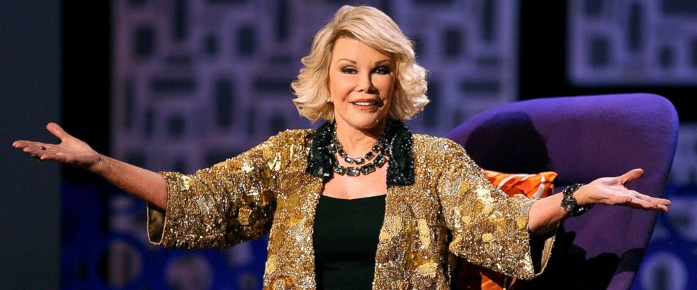 "PHOTO: Joan Rivers onstage during Comedy Centrals ""Roast of Joan Rivers,"" July 26, 2009, in Studio City, Calif."