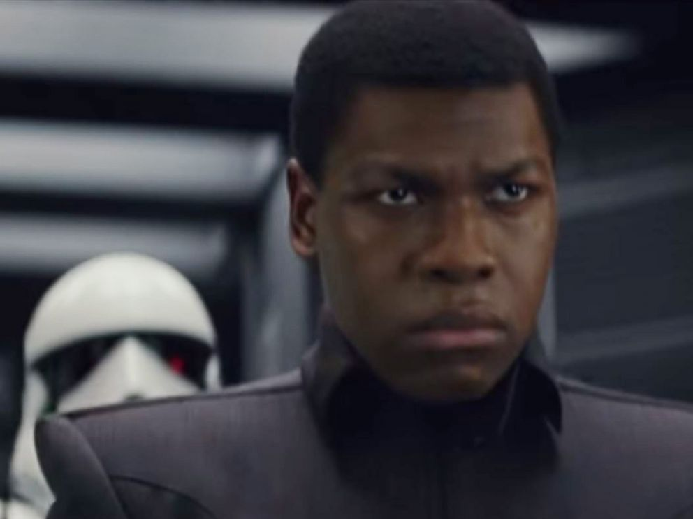 PHOTO: John Boyega in a scene from Star Wars: The Last Jedi official trailer.