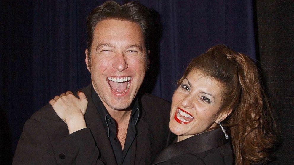 John Corbett and Nia Vardalos during The 29th Annual People's Choice Awards at Pasadena Civic Auditorium in Pasadena, Calif., in this Jan. 11, 2003 file photo.