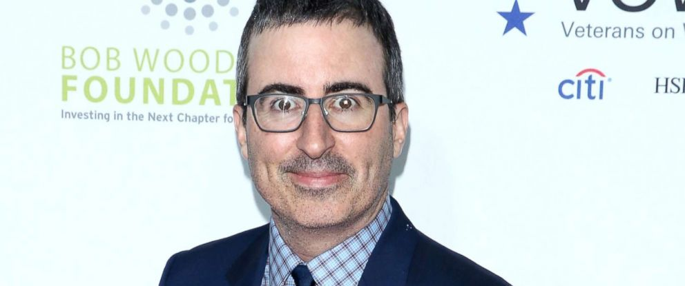 PHOTO: John Oliver attends the 11th Annual Stand Up for Heroes at The Theater at Madison Square Garden, Nov. 7, 2017, in New York City.