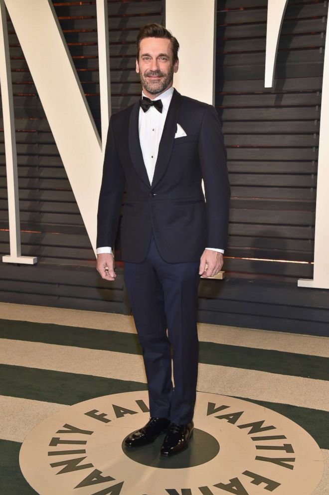Actor Jon Hamm attends the 2017 Vanity Fair Oscar Party hosted by Graydon Carter, Feb. 26, 2017 in Beverly Hills.
