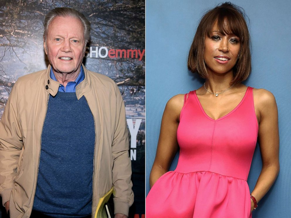 PHOTO: From left: Jon Voight attends an event on April 18, 2018, in New York City.|Stacey Dash visits the SiriusXM Studios on June 6, 2016, in New York City.