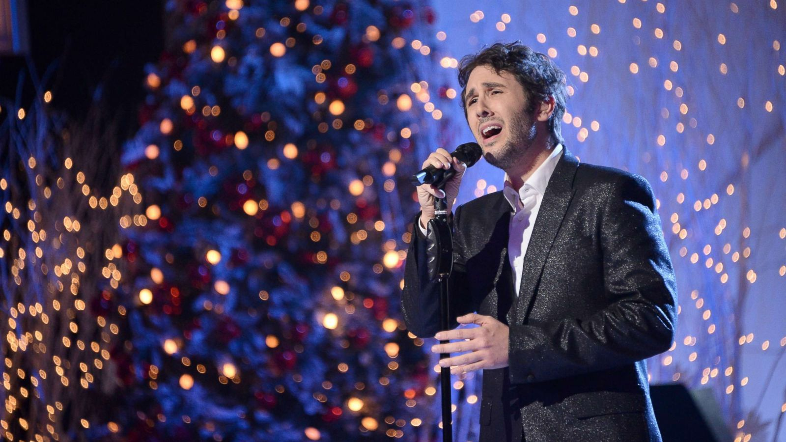 Josh Groban said Journey and Pearl Jam are his go-to bands for ...