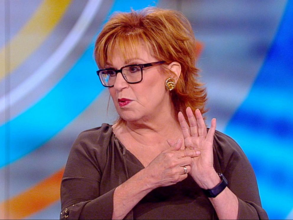 PHOTO: Joy Behar appears on The View, March 20, 2018.