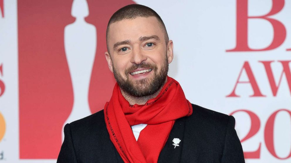 Justin Timberlake attends The BRIT Awards 2018 held at The O2 Arena on Feb. 21, 2018 in London.