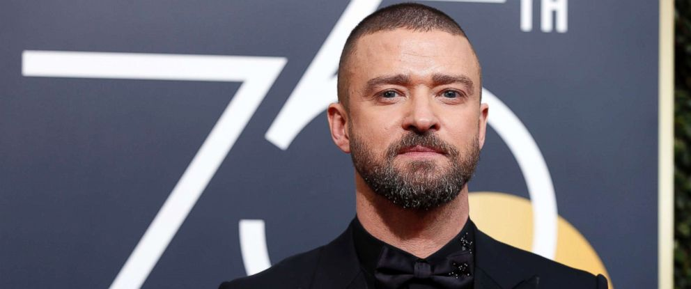 PHOTO: Justin Timberlake attend the 75th Golden Globe Awards 2018 at Hotel Beverly Hilton in Beverly Hills, Calif. Jan. 7, 2018.