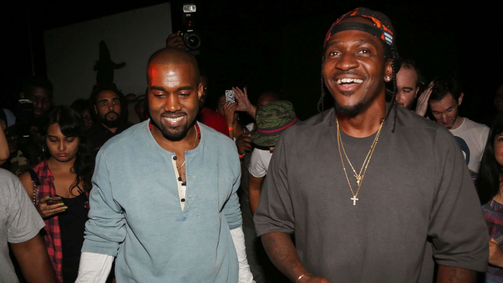 Kanye West uses controversial photo reportedly linked to Whitney