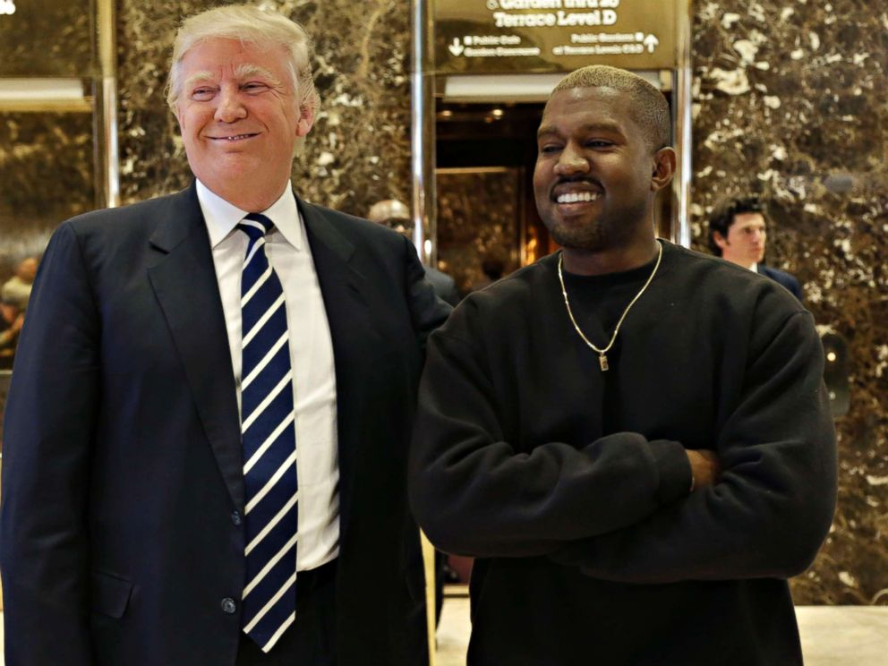 Trump Thanks Kanye West for Supportive Tweet
