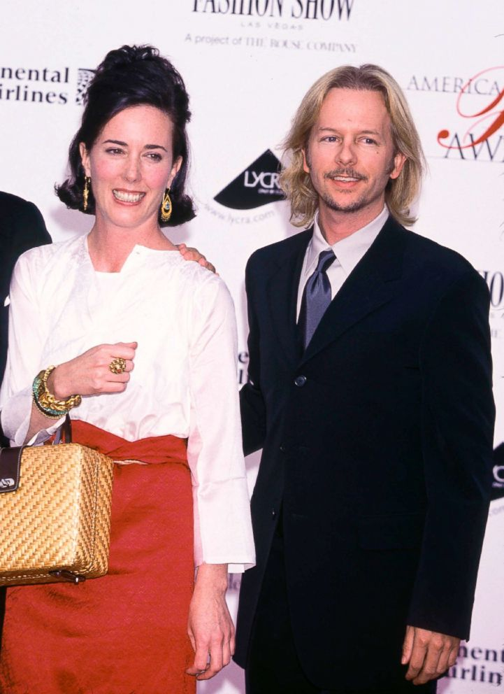 PHOTO: In this file photo, Kate and David Spade at the 20th annual CFDA American Fashion Awards, June 14, 2001, in New York City.