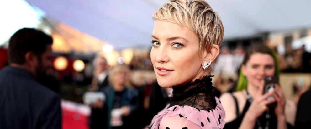 PHOTO: Kate Hudson attends the 24th Annual Screen Actors Guild Awards at The Shrine Auditorium, Jan. 21, 2018, in Los Angeles.