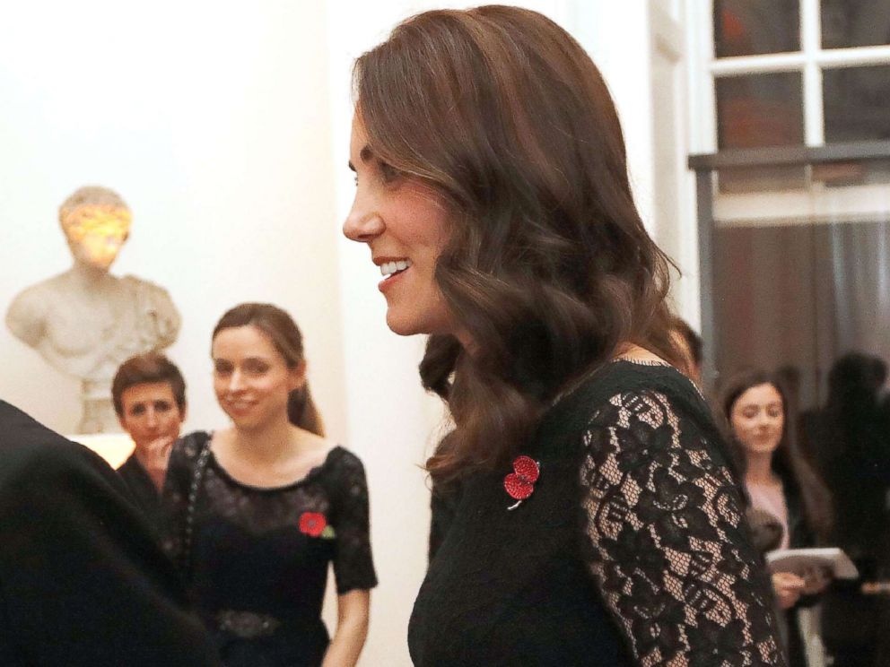 PHOTO: Kate Middleton attends the 2017 Gala Dinner for The Anna Freud National Centre for Children and Families (AFNCCF), in The Orangery at Kensington Palace in London, Nov. 7, 2017.