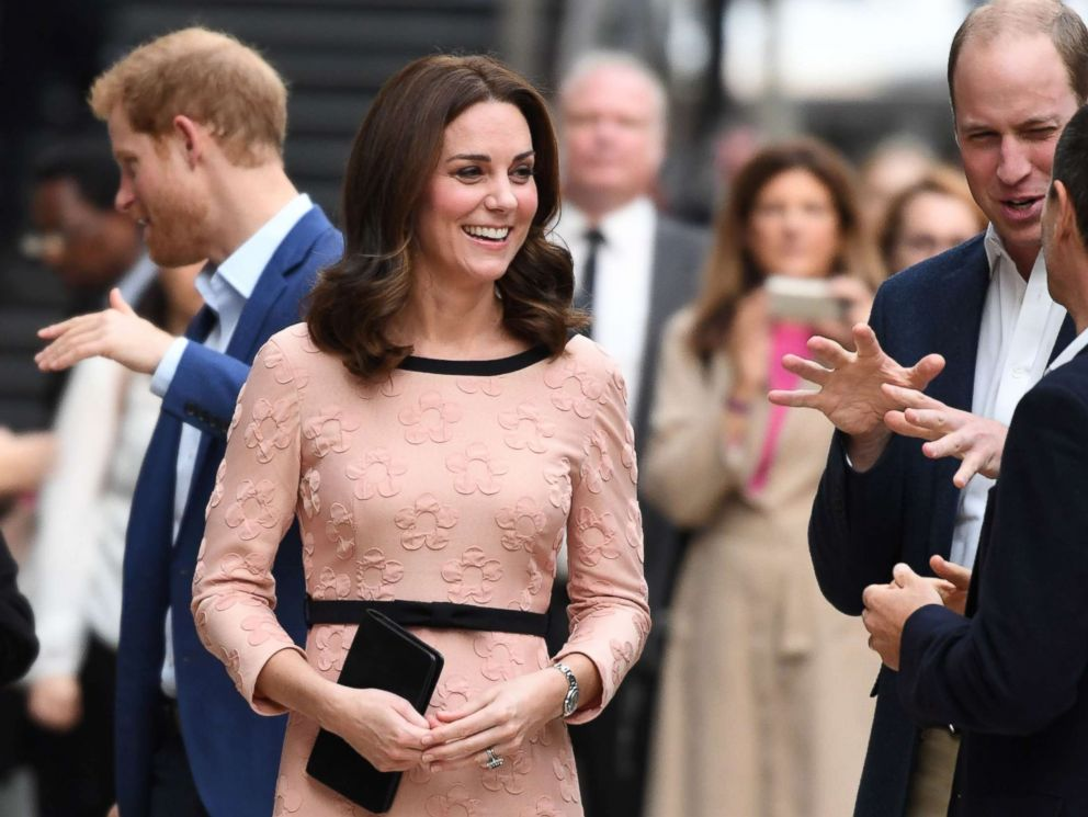 PHOTO: Britains Catherine, Duchess of Cambridge attends a charity event with other members of the royal family at Paddington train station in London on Oct. 16, 2017.