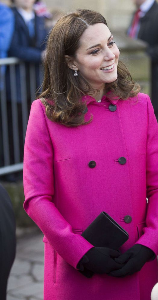 PHOTO: Catherine Duchess of Cambridge visits the Coventry Cathedral, Jan. 16, 2018.