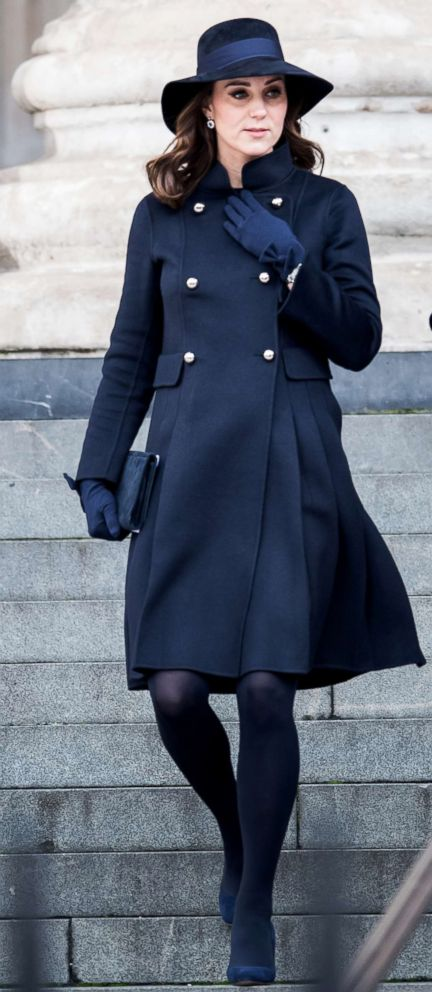 PHOTO: Catherine, Duchess of Cambridge attends the Grenfell Tower national memorial service held at St Pauls Cathedral, Dec. 14, 2017 in London.