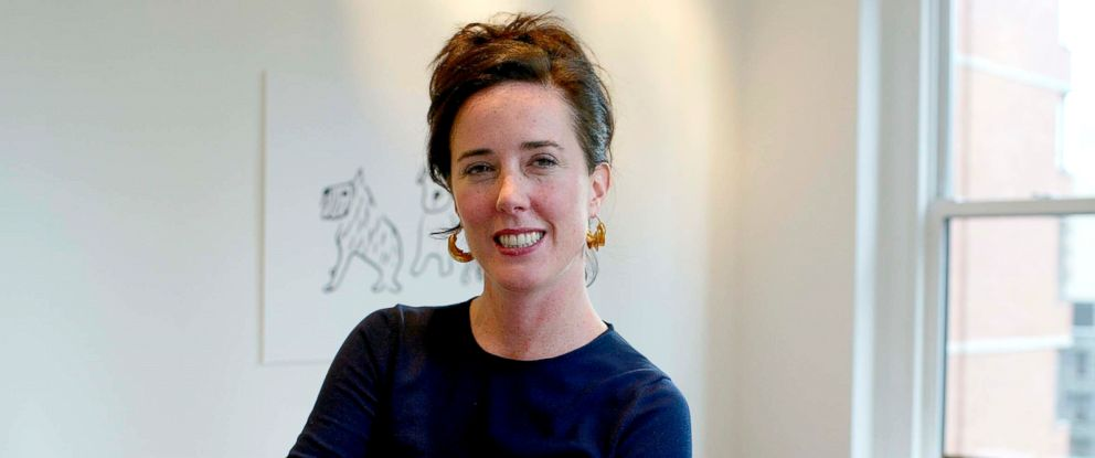 PHOTO: Kate Spade is photographed at her offices in New York, Sept. 16, 2002.