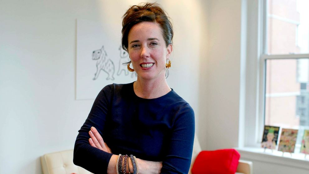 Kate Spade is photographed at her offices in New York, Sept. 16, 2002.