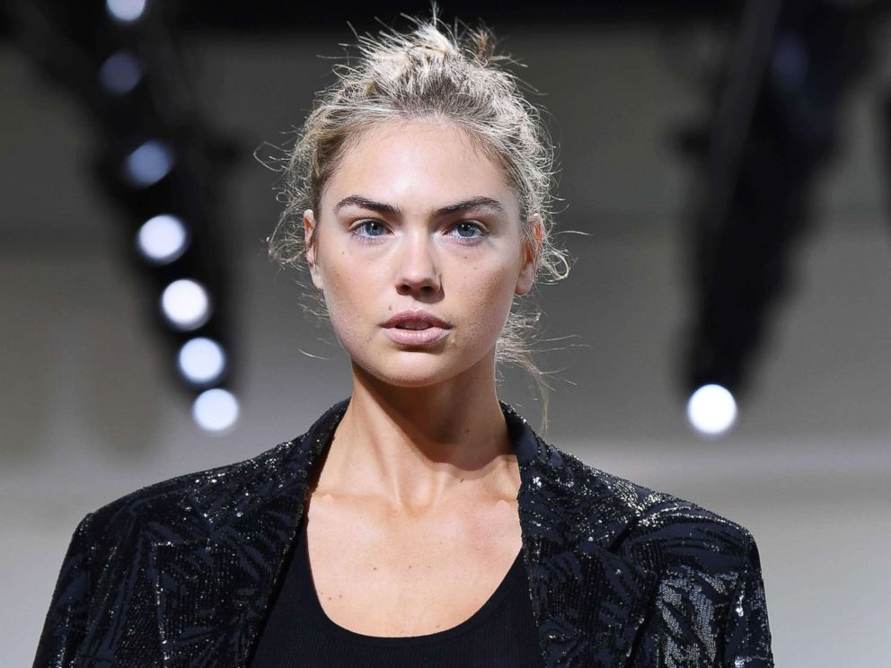 PHOTO: Model Kate Upton walks the runway at Spring Studios on Sept. 13, 2017, during New York Fashion Week in New York.