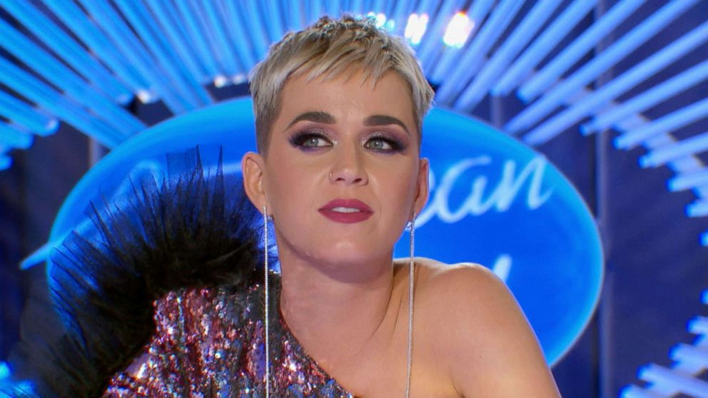 PHOTO: Katy Perry calls American Idol contestant Trevor Holmes so hot during his audition.