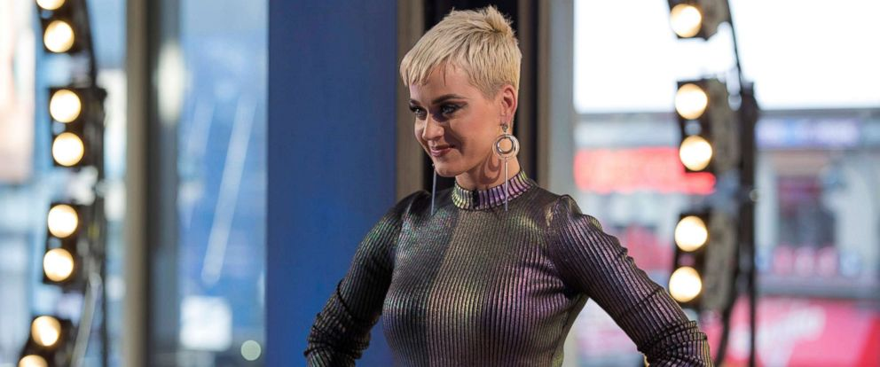 "PHOTO: Katy Perry on ""American Idol."""
