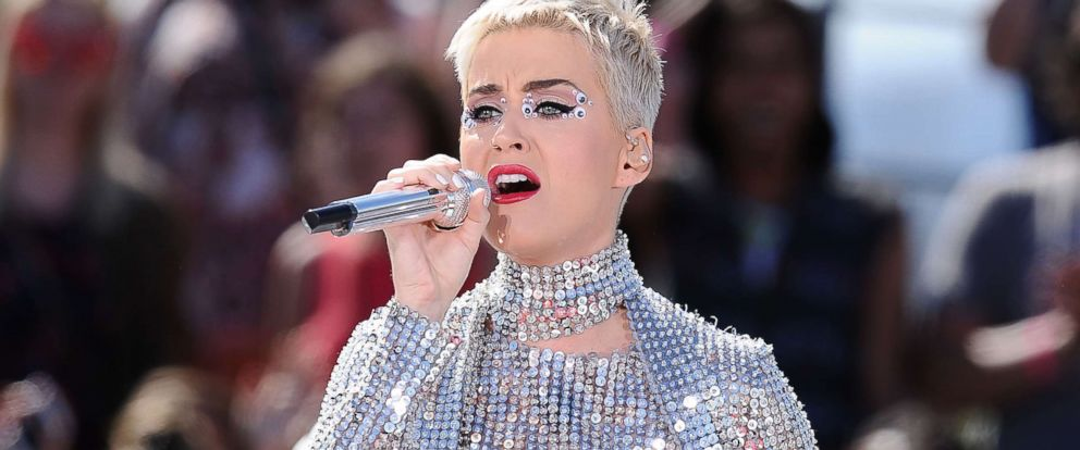 """PHOTO: Katy Perry performs at the """"Witness World Wide"""" concert, June 12, 2017, in Los Angeles."""