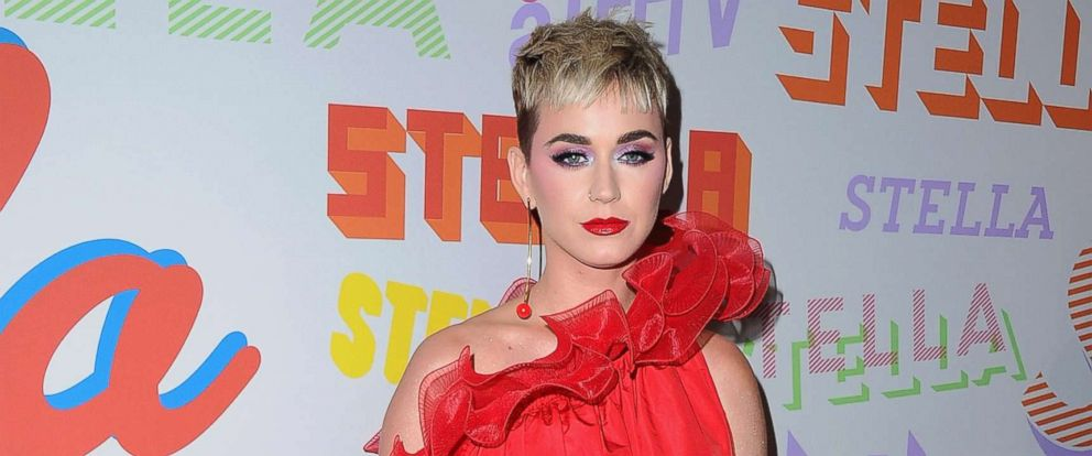 PHOTO: Katy Perry attends Stella McCartneys Autumn 2018 Collection Launch, Jan. 16, 2018, in Los Angeles.
