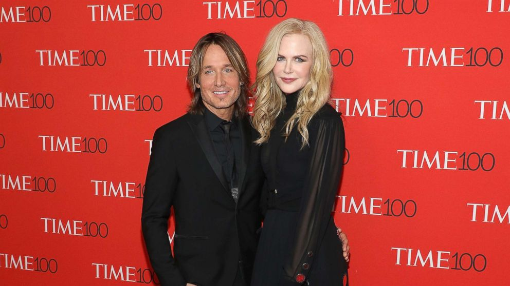 Keith Urban and Nicole Kidman attend the 2018 Time 100 Gala at Frederick P. Rose Hall, Jazz at Lincoln Center, April 24, 2018, in New York City.