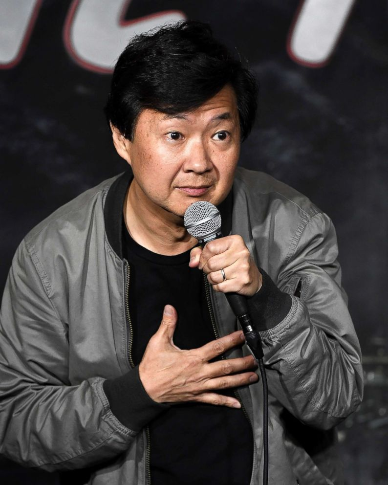 PHOTO: Comedian Dr. Ken Jeong performs during his appearance at The Ice House Comedy Club, Feb. 6, 2018, in Pasadena, Calif.