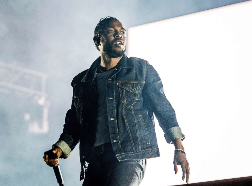 Kendrick Lamar performs during the Festival d'ete de Quebec in Quebec City, Canada, July 7, 2017.