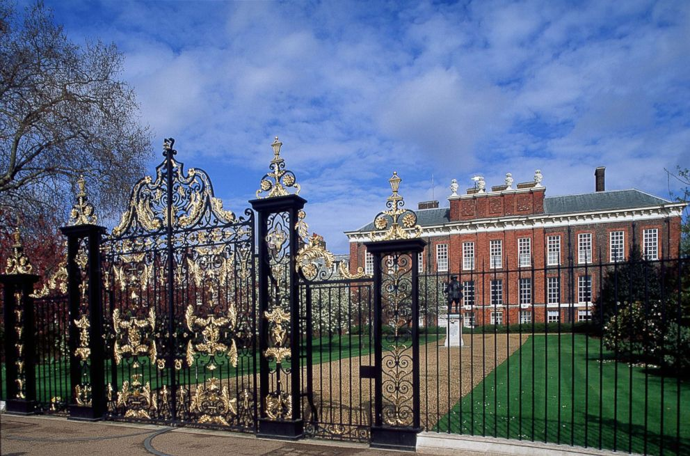 PHOTO: Kensington palace is seen in London.