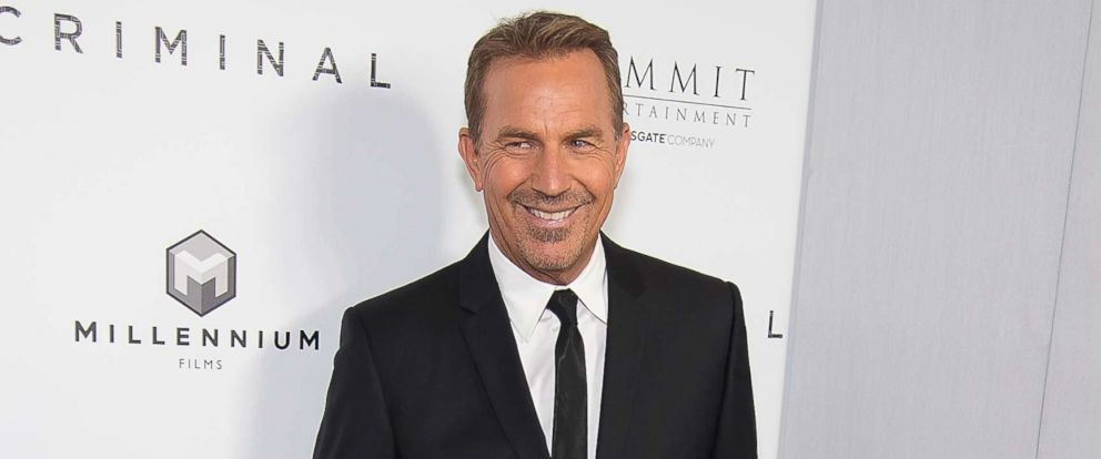 "PHOTO: Actor Kevin Costner attends the ""Criminal"" New York Ppemiere at AMC Loews Lincoln Square 13 theater, April 11, 2016, in New York City."